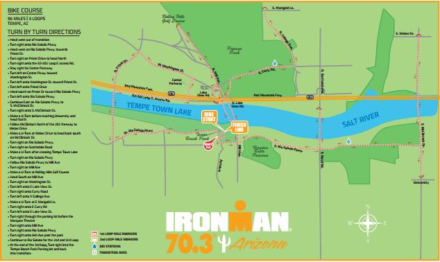 ironman arizona 70.3 bike course