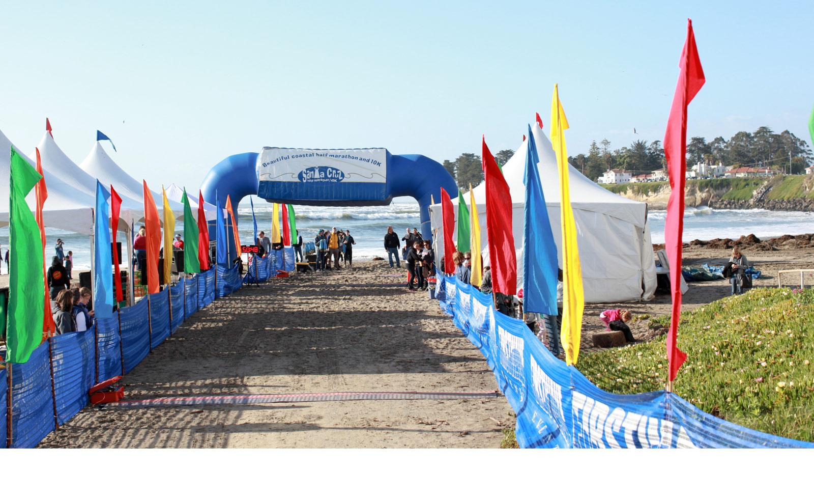 Image result for santa cruz half marathon clipart