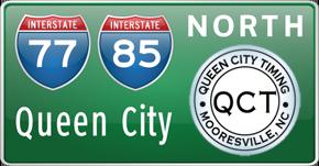 Queen City Timing's logo