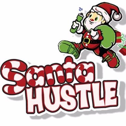 Santa Hustle's logo