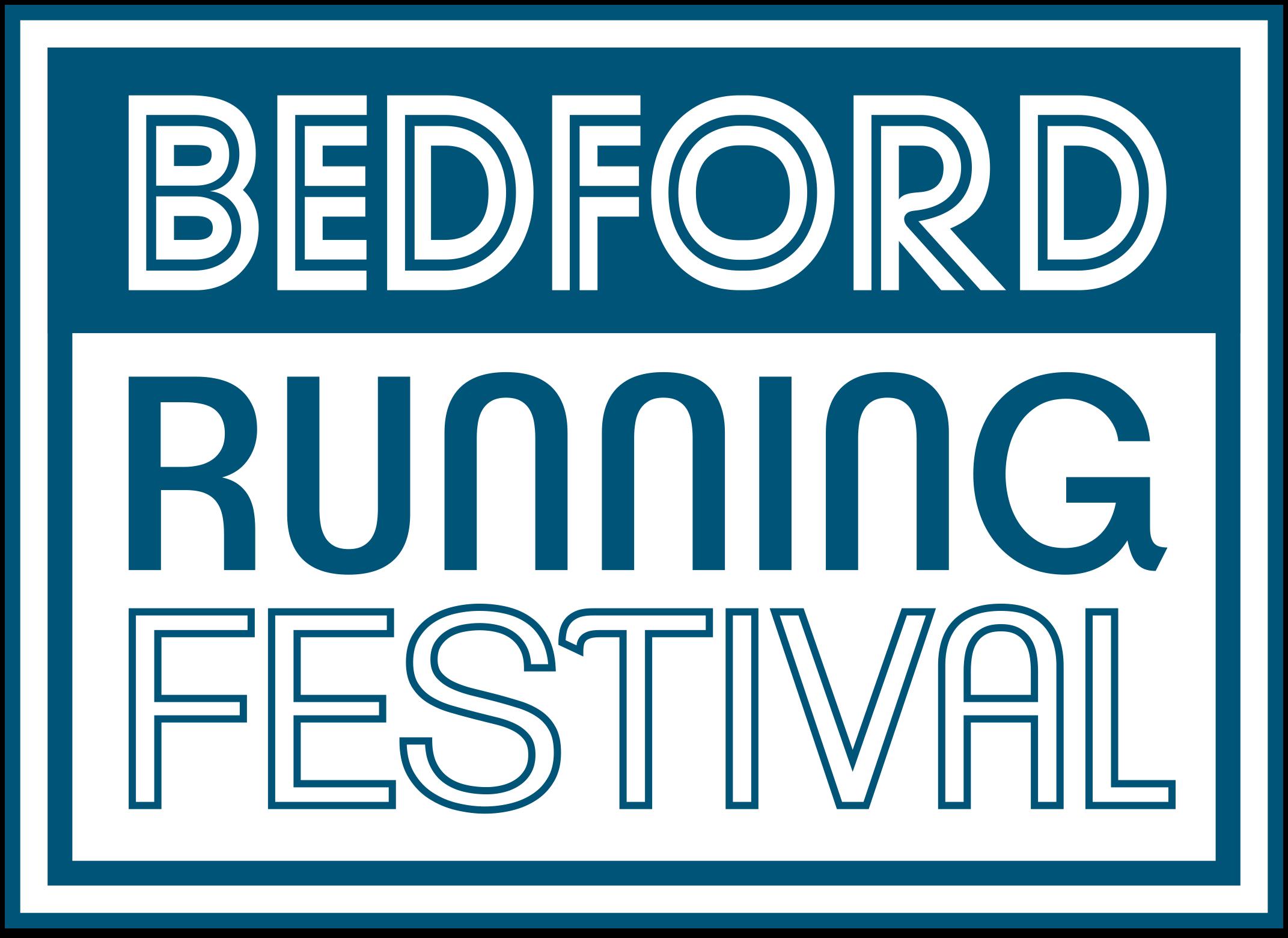 Bedford Running Festival's logo