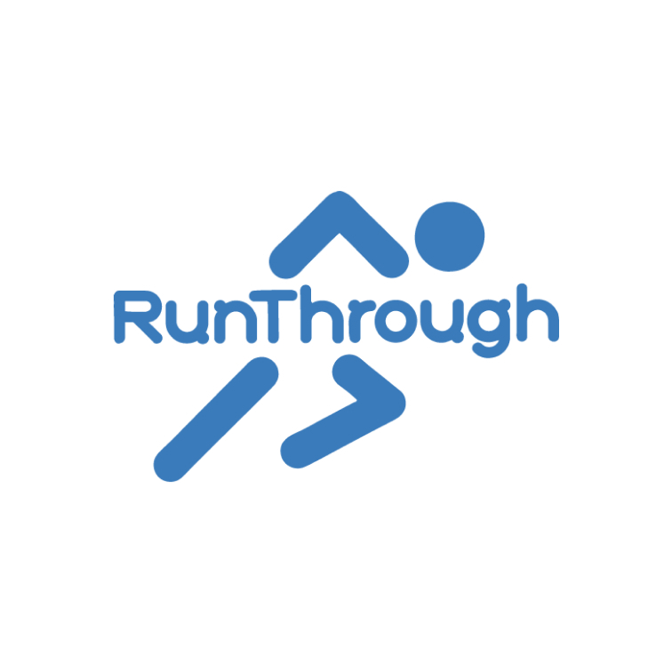 RunThrough's logo