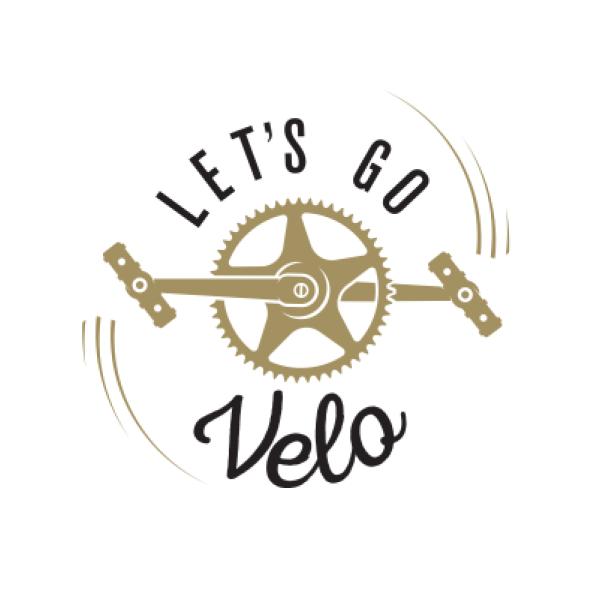 Let's Go Velo's logo