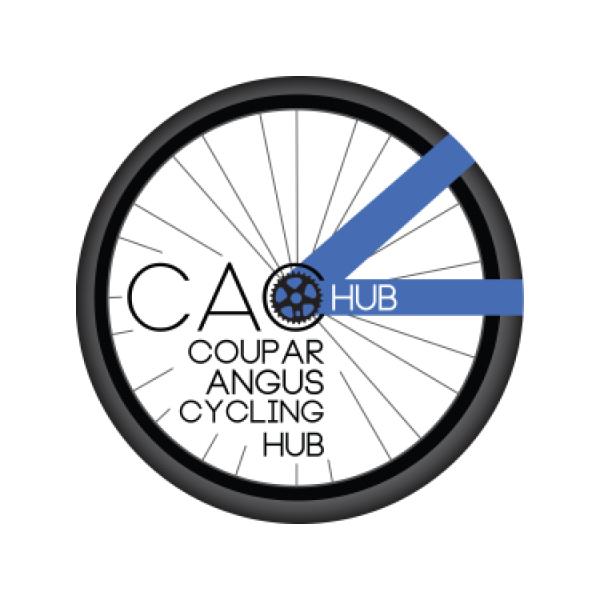Coupar Angus Cycling Hub's logo