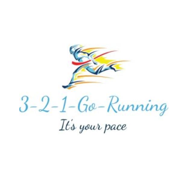 3-2-1-Go-Running's logo
