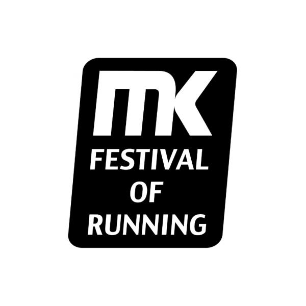 Milton Keynes Festival of Running's logo