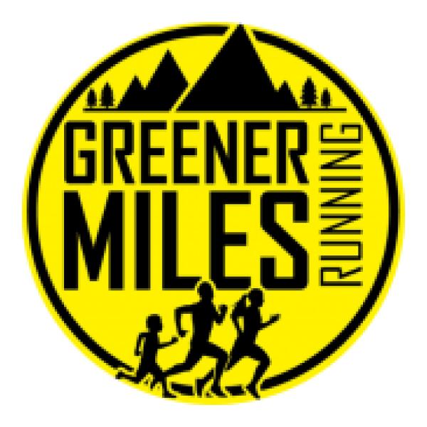 Greener Miles Running's logo