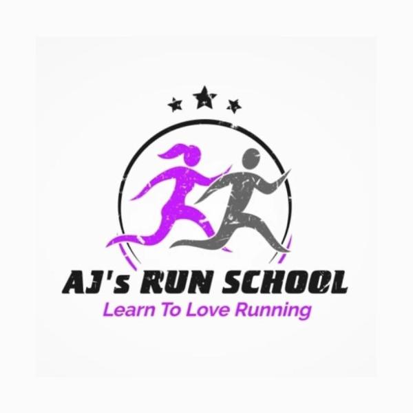 AJ's Run School's logo