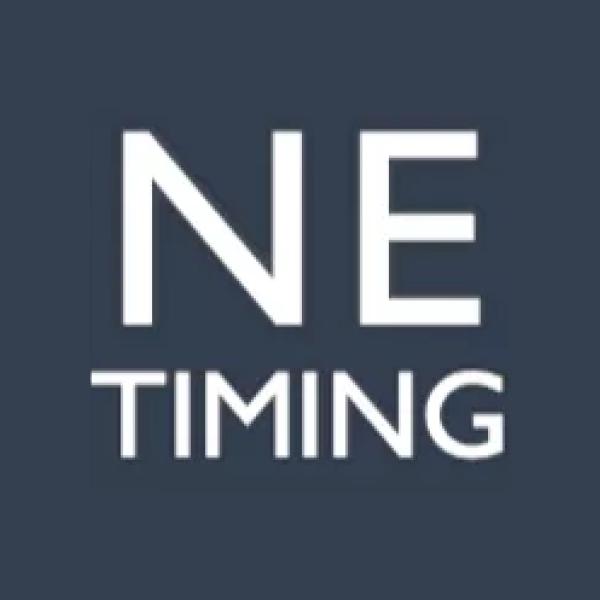 NE Timing's logo