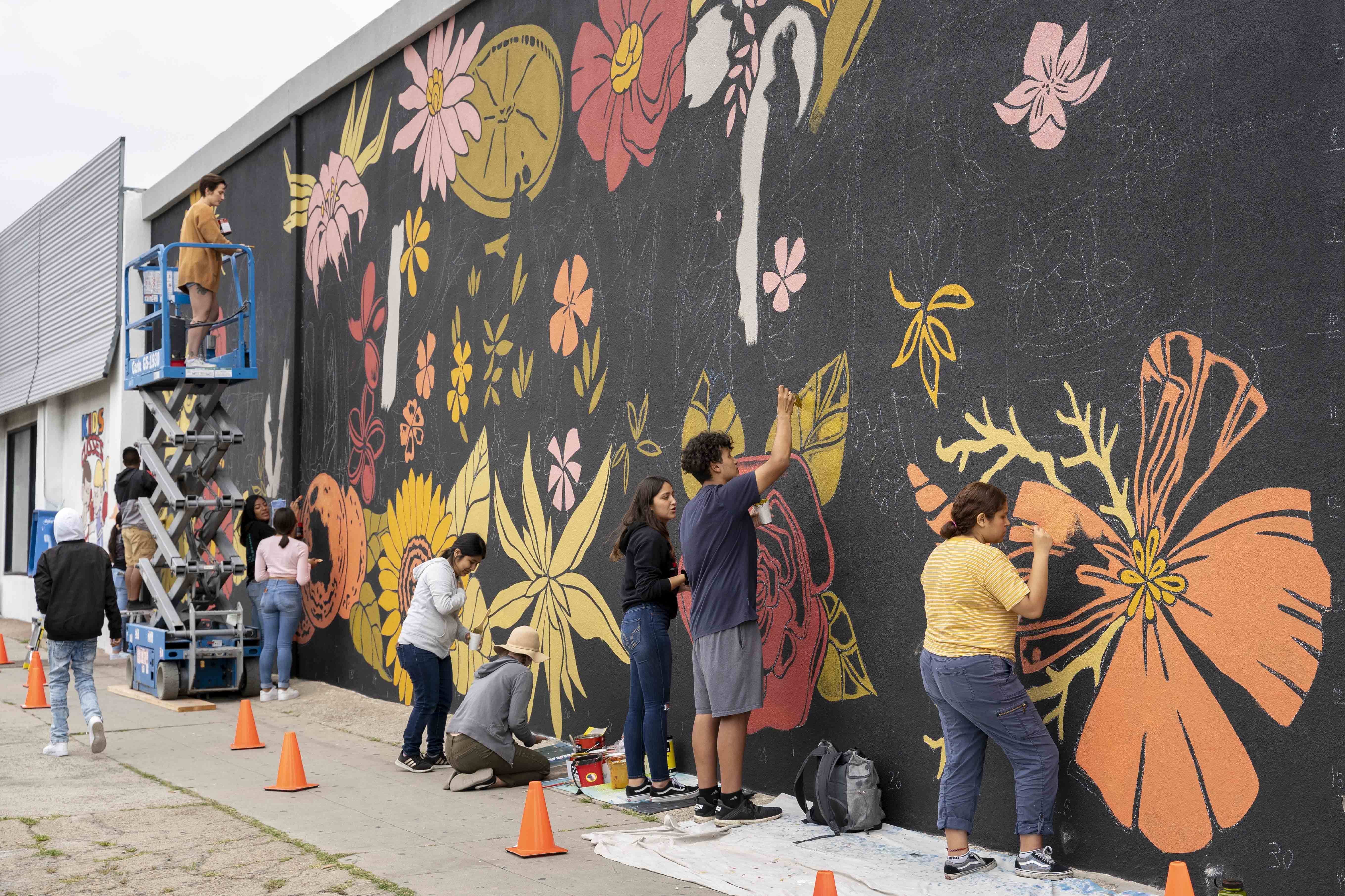 Mid-City CAN Youth Council Summer Artivism Program