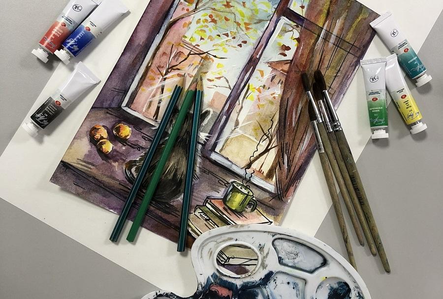 Раскрасили ноябрь яркими красками
