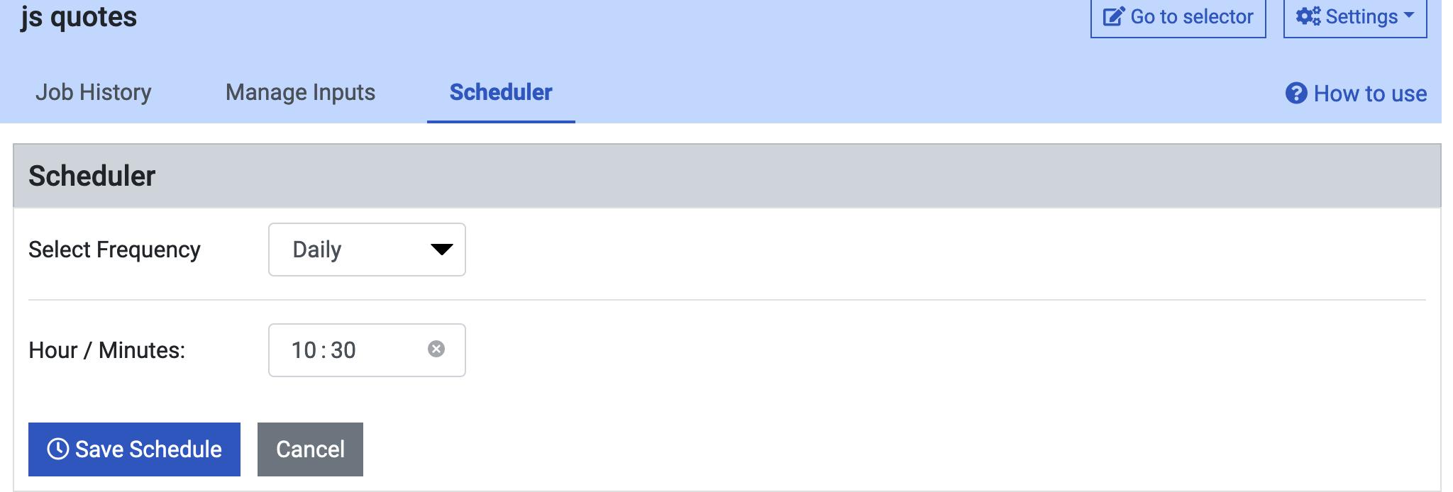 schedule_prowebscraper