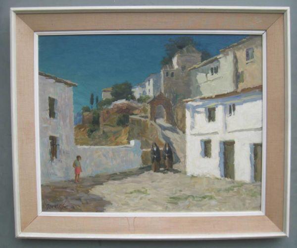 Modern British: Alan Stenhouse Gourley (1909-1991) Oil