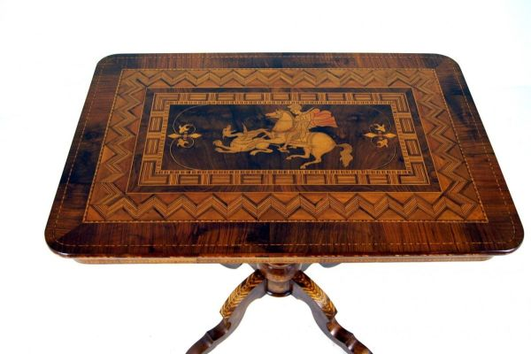 A Fantastic Italian Inlaid Soro Table