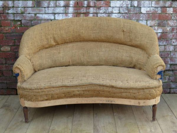 French Sofa For Re-upholstery