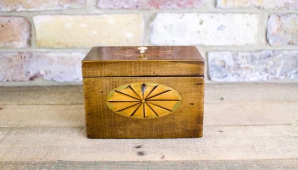 Rare Harewood Georgian Tea Caddy C.1790
