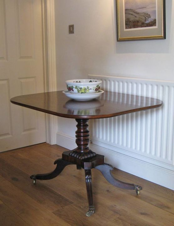 Antique Tilt-top Table
