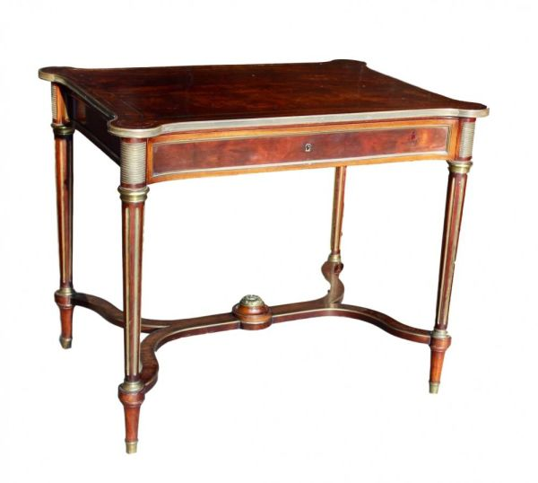 French Mahogany Writing Table
