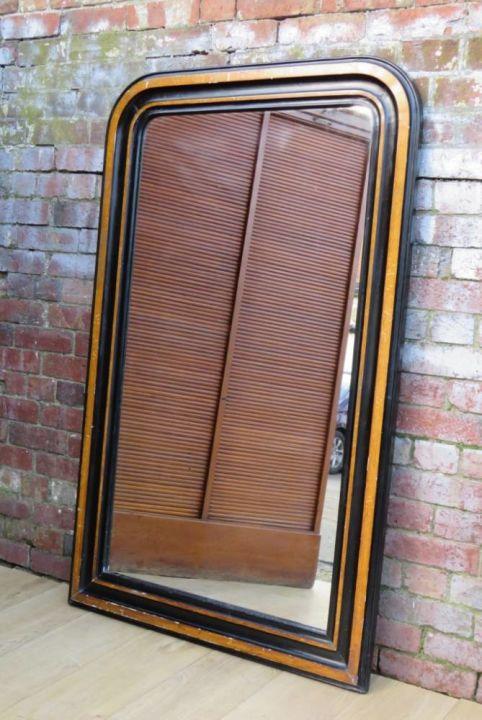 Antique Mercury Plate Wall Mirror