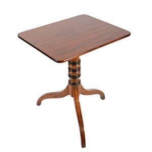 Regency Mahogany Tip Top Table