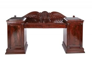 Outstanding Quality Antique Mahogany Sideboard
