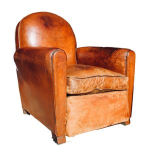 Leather Club Chair C1920