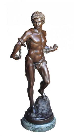 Bronze Sculpture Of Greek/roman Man
