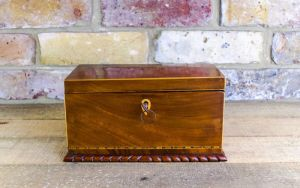 Mahogany Tea Caddy C.1830