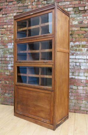 English Oak Eighteen Drawer Haberdashery Cabinet
