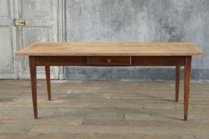 French Cherrywood Dining Table