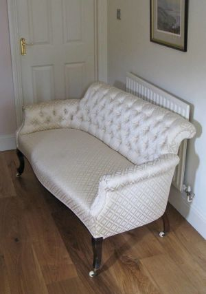 Antique Button Salon Sofa