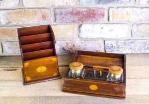 Edwardian Stationery Desk Set C.1910