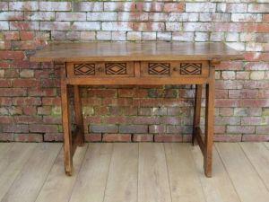 Antique French Huntsman Prep Table