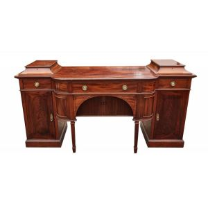 Large Antique Mahogany Sideboard