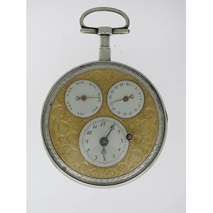 Calendar Pocket Watch
