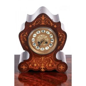 Antique Mantel Clock - 8 Day