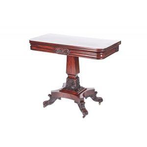 Fine Quality William Iv Mahogany Tea Table