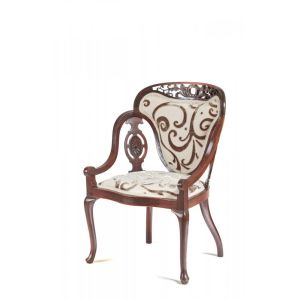 Antique Carved Armchair