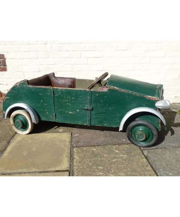 French Toy Pedal Car