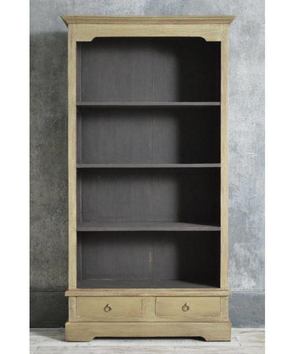Painted Bookshelves