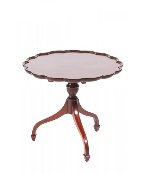 George Iii Mahogany Wine/lamp Table