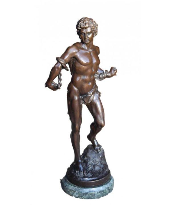 Bronze Sculpture Of Greek/roman Man