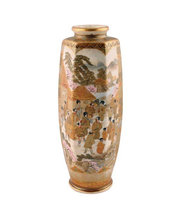 Antique Satsuma Vase Lfa