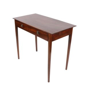 Georgian Mahogany One Drawer Side Table