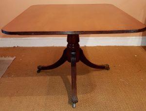 Antique Flip Top Table.