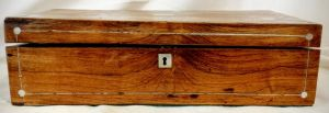 A 19th Century Rosewood Writing Slope Circa 1840