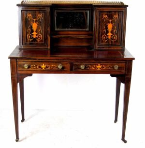 Inlaid Rosewood Desk