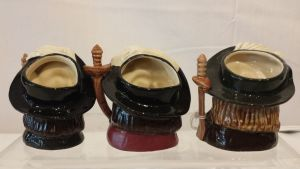 "3 Royal Doulton Toby Jugs ""the Three Musketeers"""