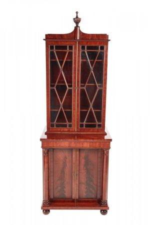 Fantastic Quality William Iv Mahogany Bookcase