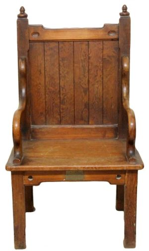 Victorian Antique Gothic Armchair